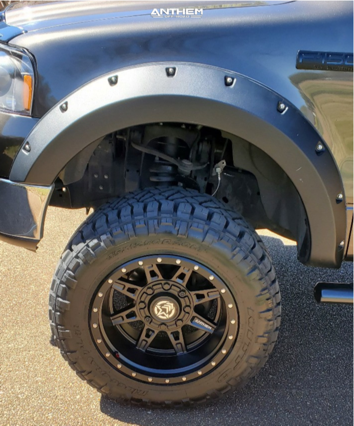 16 2006 F 150 Ford Zone Suspension Lift 6in Anthem Off Road Rogue Black
