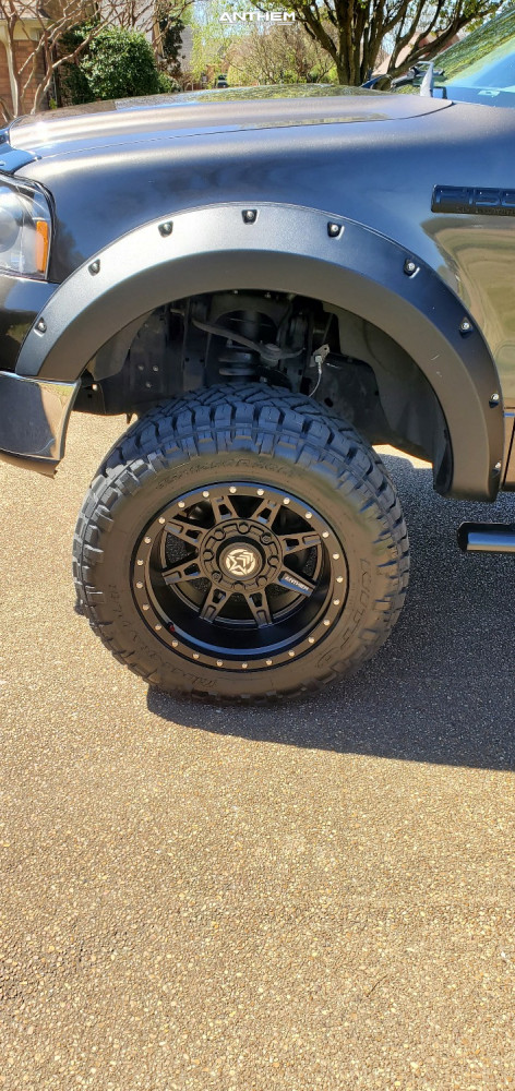 8 2006 F 150 Ford Zone Suspension Lift 6in Anthem Off Road Rogue Black