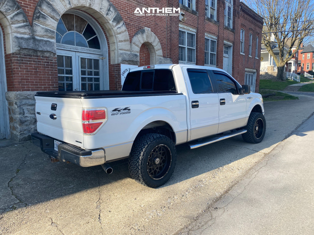 4 2012 F 150 Ford 2 Inch Level Leveling Kit Anthem Off Road Avenger Black