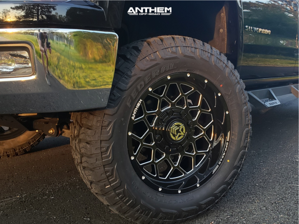 2 2014 Silverado 1500 Chevrolet Zone Suspension Lift 65in Anthem Off Road Avenger Black
