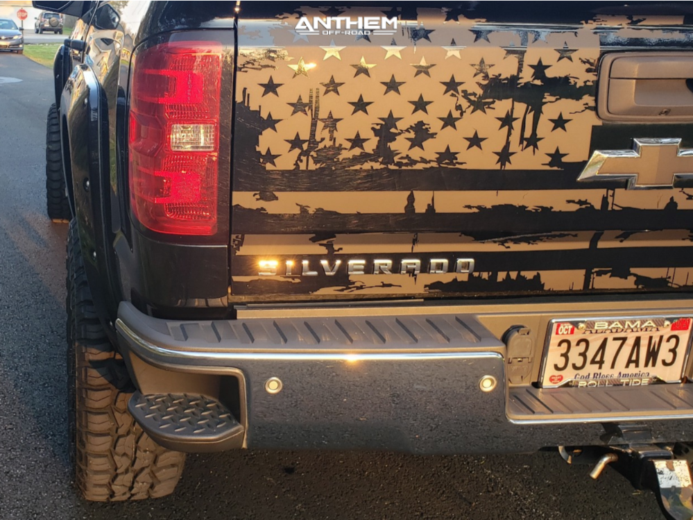 4 2014 Silverado 1500 Chevrolet Zone Suspension Lift 65in Anthem Off Road Avenger Black