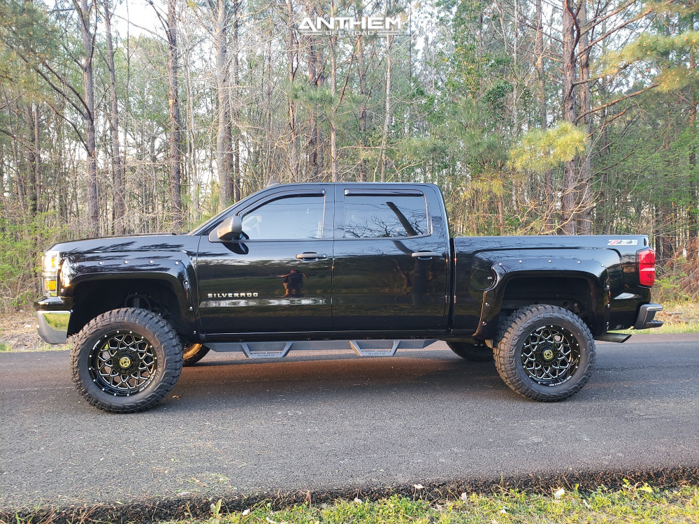 5 2014 Silverado 1500 Chevrolet Zone Suspension Lift 65in Anthem Off Road Avenger Black