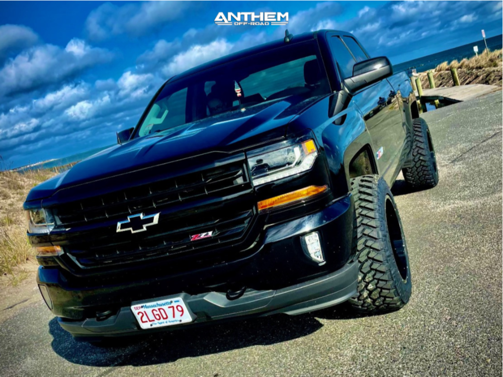 12 2018 Silverado 1500 Chevrolet 2 Inch Level Leveling Kit Anthem Off Road Equalizer Black
