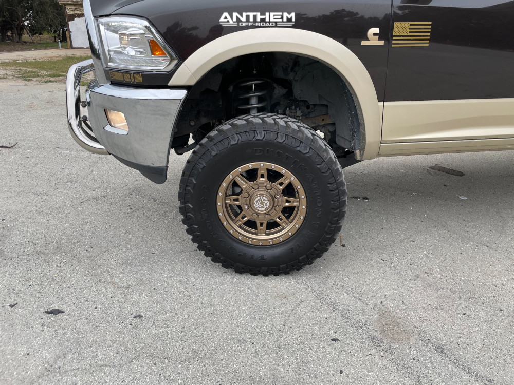 5 2011 2500 Ram Rough Country Suspension Lift 5in Anthem Off Road Rogue Bronze