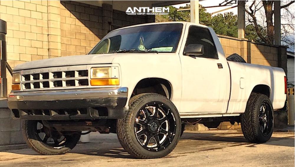 1 1991 Dakota Dodge Oem Stock Anthem Commander Black