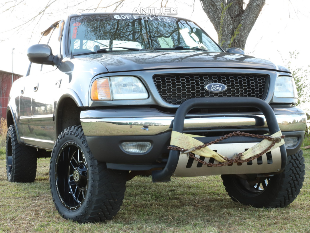 2003 Ford F 150 Anthem Gunner Rough Country Suspension Lift