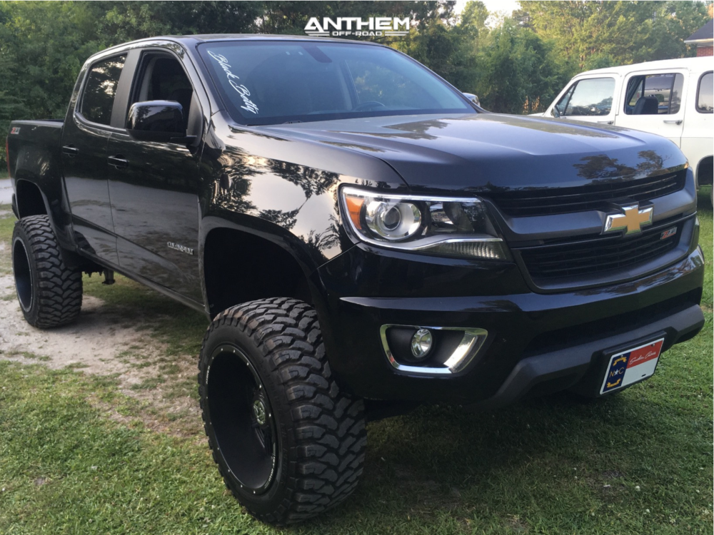 Lifted Chevy Colorado >> 2016 Chevrolet Colorado Anthem Equalizer Rough Country