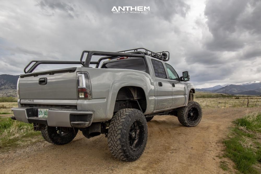 Lifted Cateye Silverado Anthem Wheels