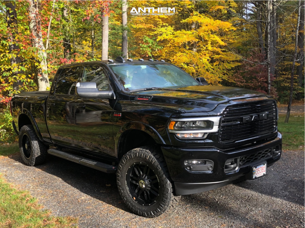 2 2019 2500 Ram Bilstein Leveling Kit Anthem Equalizer Black