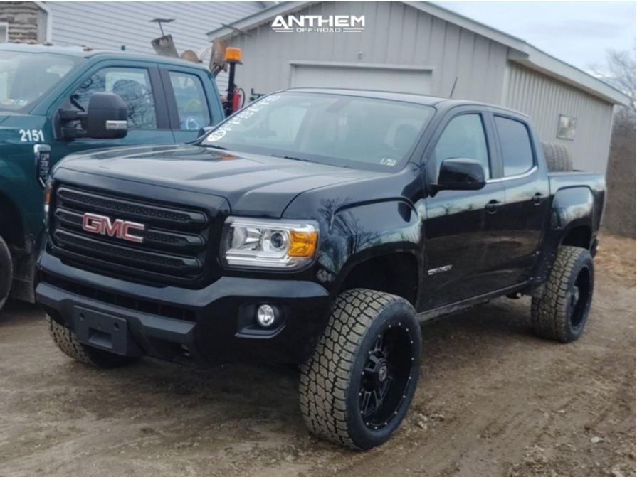 4 2019 Canyon Gmc Rough Country Leveling Kit Anthem Equalizer Machined Accents