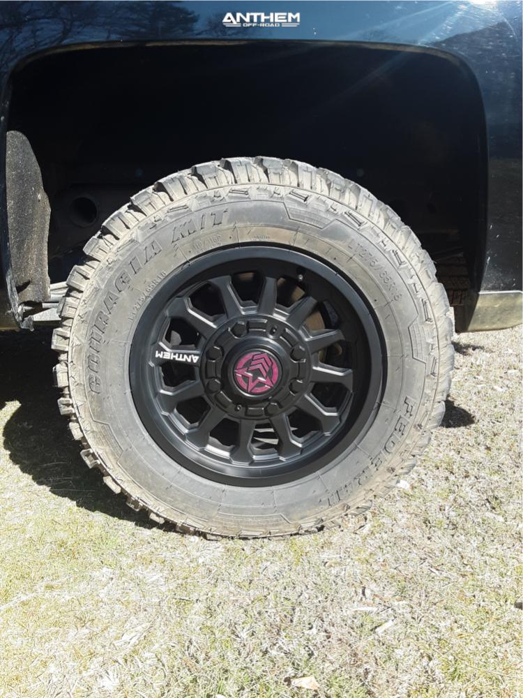 11 2018 Silverado 1500 Chevrolet Motofab Leveling Kit Anthem Intimidator Black