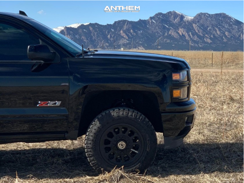 5 2015 Silverado 1500 Chevrolet Proryde Leveling Kit Anthem Off Road Intimidator Black