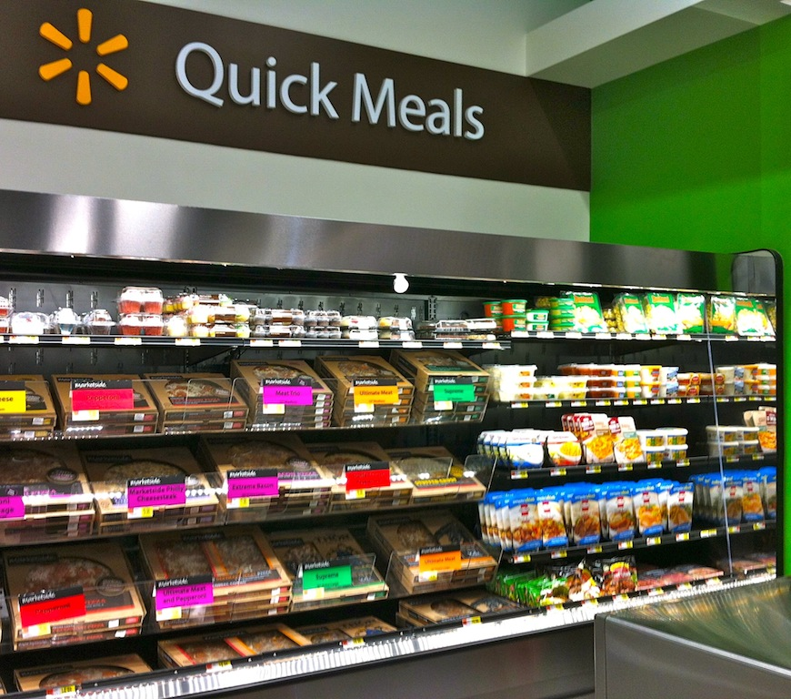 Wal mart to open first wal mart to go convenience store for Cuisine to go