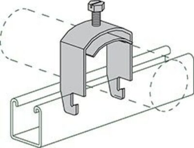 """AS 3110 2-3/4"""" One Piece Cable and Conduit Clamp"""