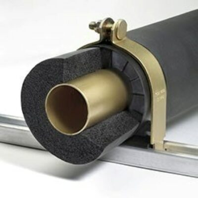 Klo-Shure® Strut Mounted Insulation Coupling used with Elastomeric Insulation