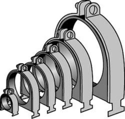 AS 0040D thru AS 106P Cushion Clamp Assembly