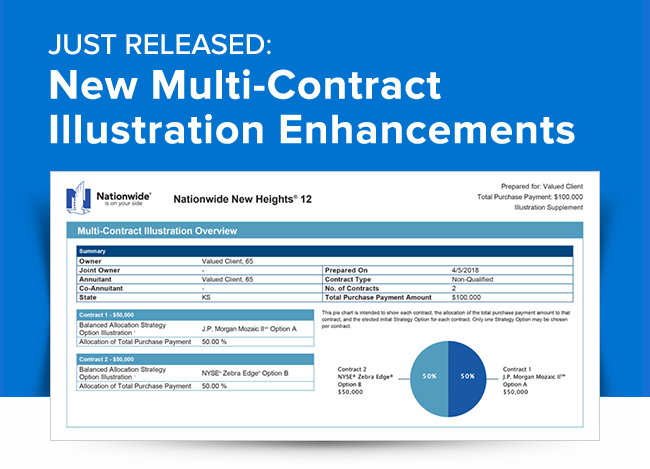JUST RELEASED: New Multi-Contract Illustration Enhancements