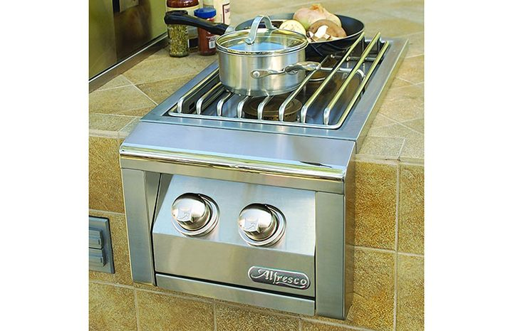 Stand-Alone-Dual-Side-Burner