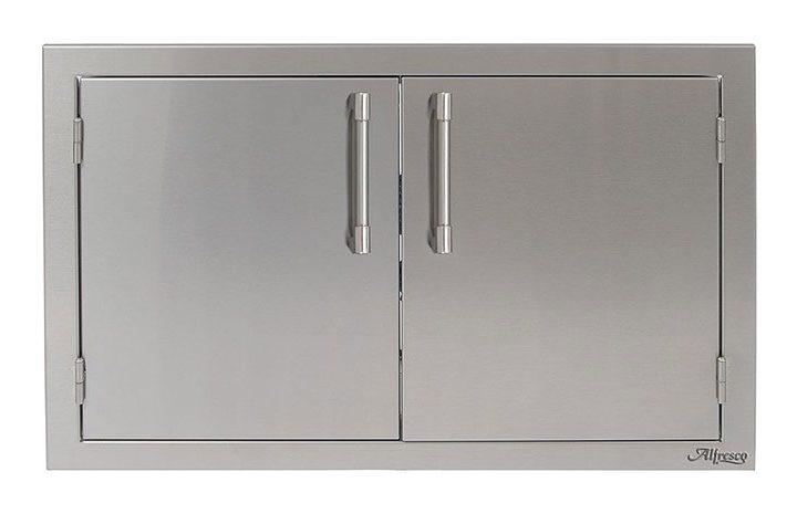 Alfresco-30-inch-Stainless-Steel-Double-Access-Door-AXE-30