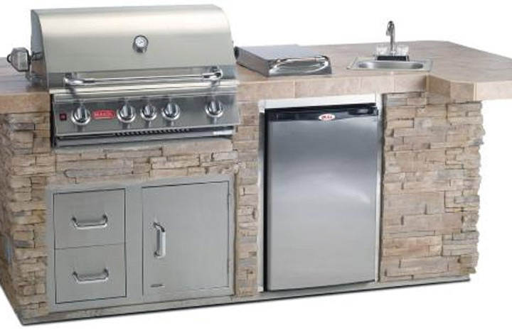 Bull Gourmet Q Outdoor Kitchen Affordable Outdoor Kitchens