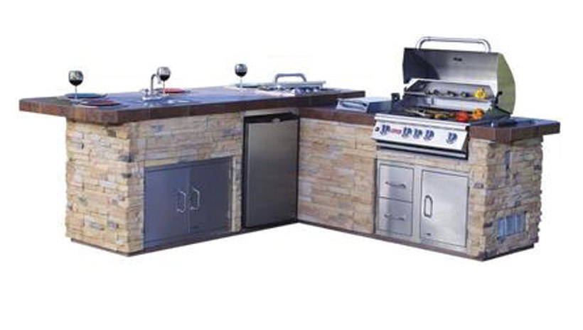 Bull Gourmet Q Outdoor Kitchen | Affordable Outdoor Kitchens