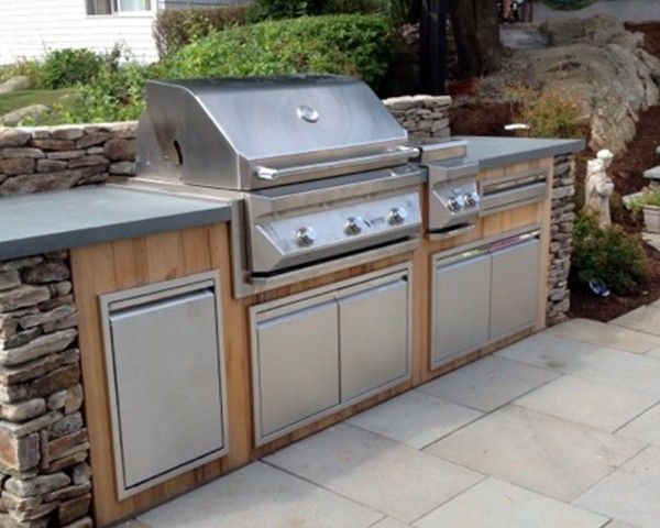 Twin Eagles Teppanyaki Griddle Affordable Outdoor Kitchens