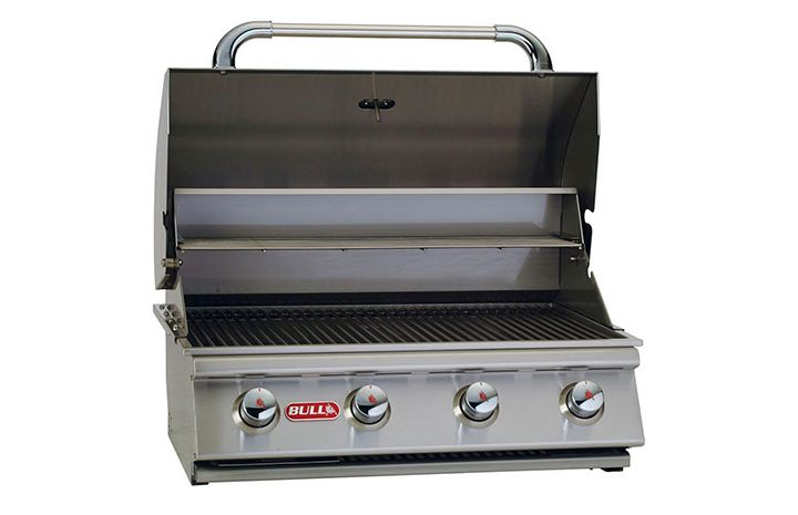 Bull-Outlaw-30-Inch-Built-In-4-Burner-Gas-Grill-Liquid-Propane-26038-Grill