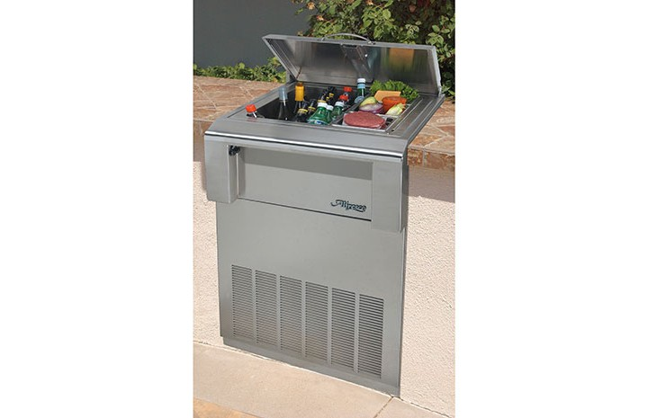 Alfresco-counter-refrigeerator