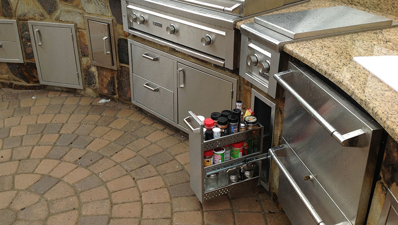 Buyers Guide To Outdoor Storage Solutions Affordable Outdoor Kitchens