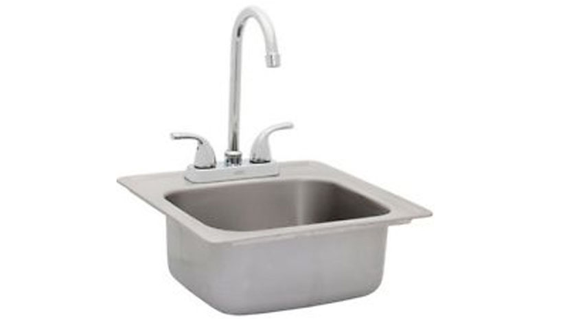 Bull Bar Sink Faucet Affordable Outdoor Kitchens