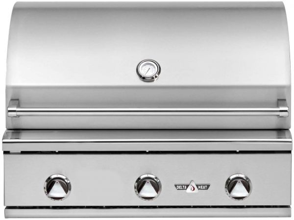 Delta Heat 38 Quot 3 Burner Built In Gas Grill With Infrared