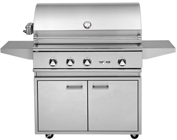 delta heat 38 3 burner cart gas grill with rotisserie