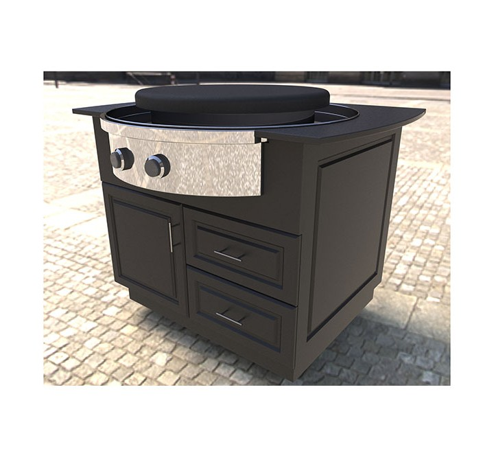 Evo Oasis Island Cart For Evo® Affinity 30G Cooktop