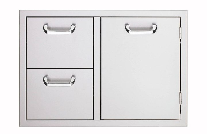 30-Inch-Storage-Door-and-Fully-Enclosed-Double-Drawers