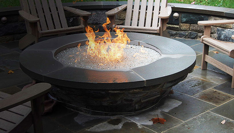 Hpc 54 Quot X 16 Quot 200 000 Btu Rectangle Bowl Pan Fire Pit