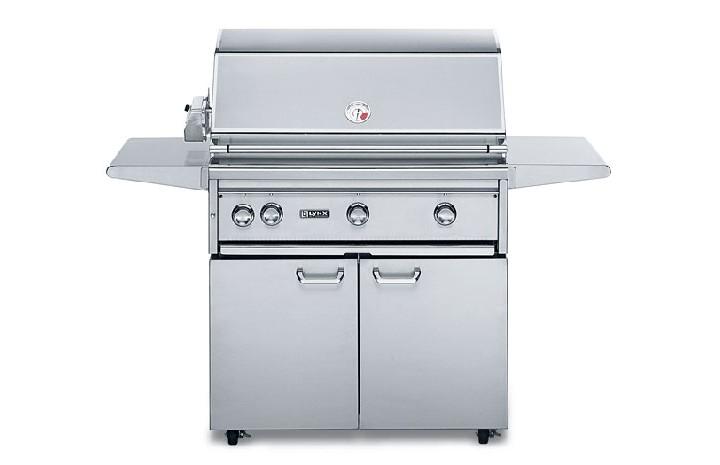 "Lynx 36 Built In Grill: Lynx 36"" Professional 3-Burner Freestanding Gas Grill"