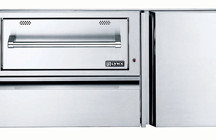 Lynx-42-Inch-Warming-Drawer-and-Convenience-Center-Closed