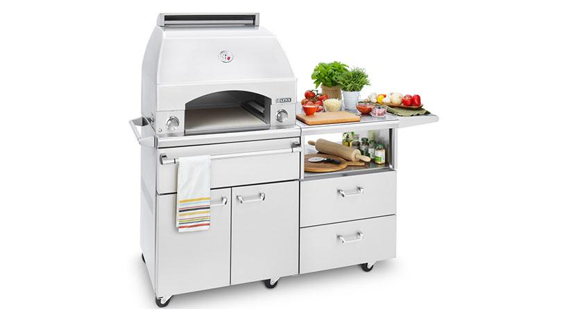 Lynx Professional Napoli 30 Inch Freestanding Cart Pizza