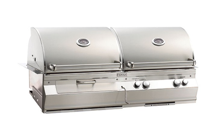 Fire Magic 48″ A830i Aurora Series Built-In Charcoal and Gas Hybrid Grill