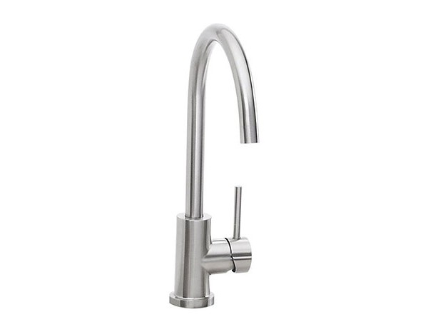 Lynx Single Handle Faucet Stainless Steel Affordable Outdoor Kitchens