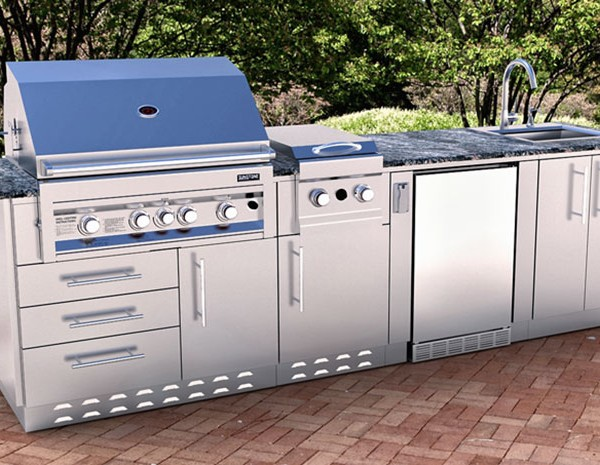 46 Outdoor Cabinet For Built In Grills Affordable