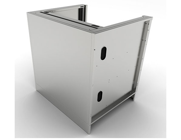 Stainless Steel 40 Quot Appliance Cabinet Affordable Outdoor
