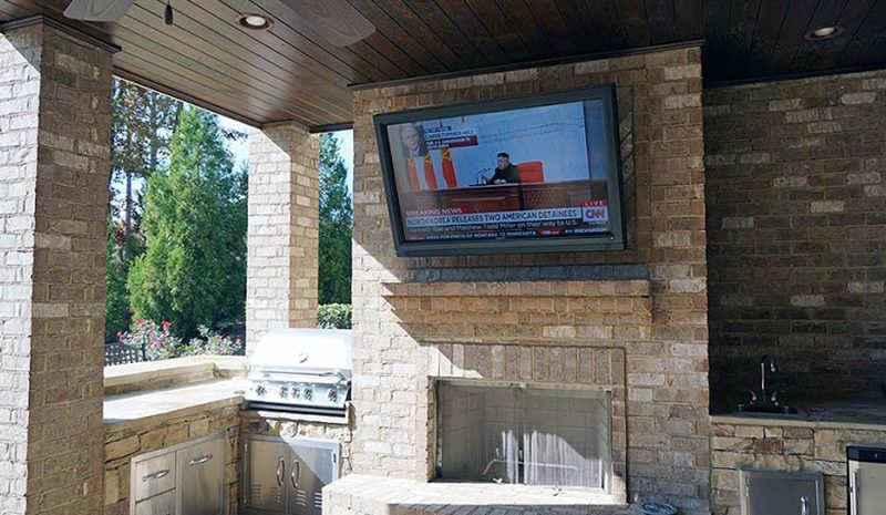 Sunbrite 65 Inch Outdoor Tv Affordable Outdoor Kitchens