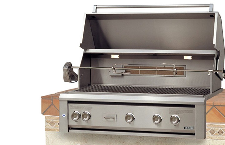 Luxor 36 Built In Gas Grill Affordable Outdoor Kitchens