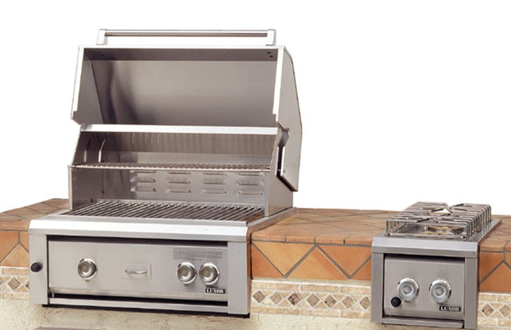 perfect built grill ready summer season entertaining guests enjoyable in gas oven and uk grills lowes reviews 2015