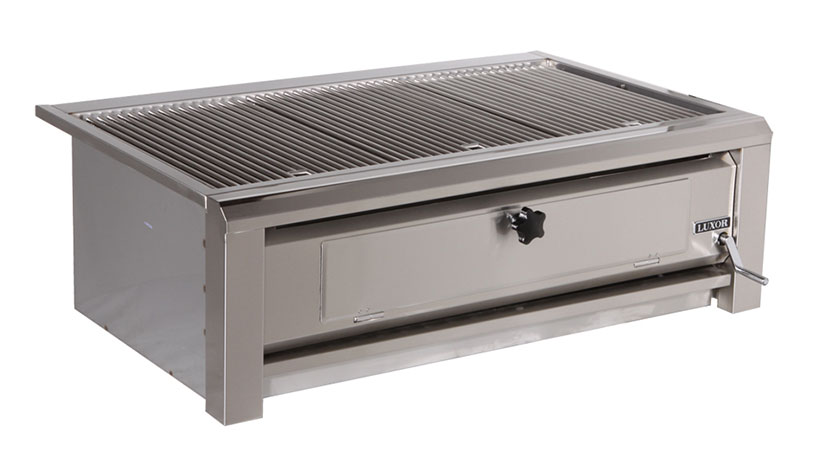 Luxor Open Top 42 Quot Built In Charcoal Grill Affordable