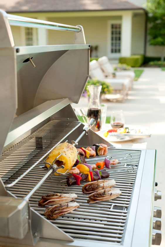 Coyote c series 36 inch 4 burner built in grill for Coyote outdoor grills