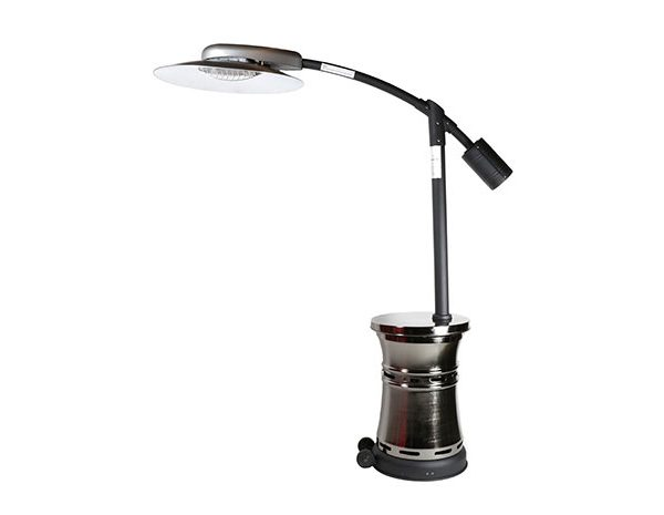 Curve Patio Heater Affordable Outdoor Kitchens