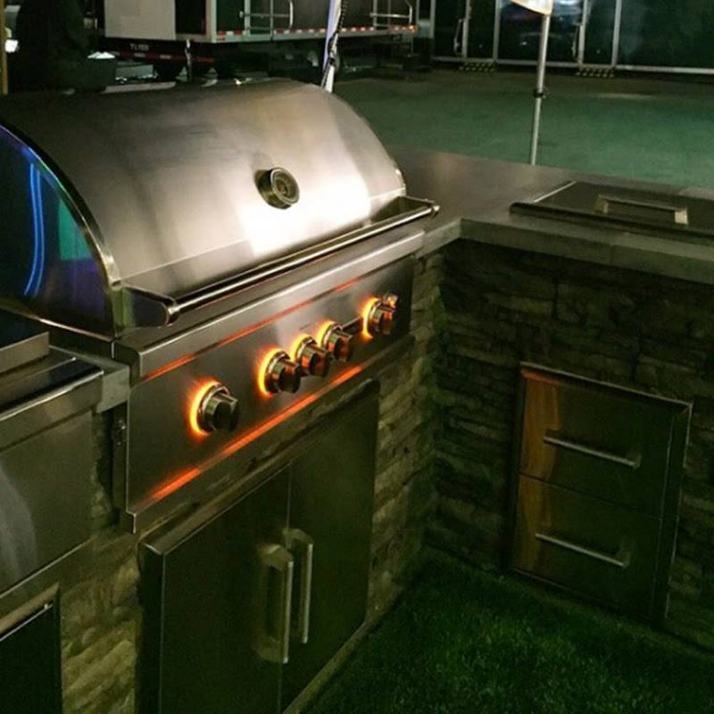 Coyote 42 s series built in gas grill affordable outdoor for Coyote outdoor grills