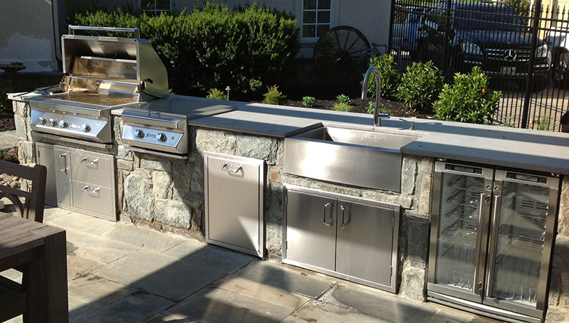 Custom Kitchens Affordable Outdoor Kitchens